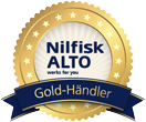 Nilfisk ALTO Goldhändler Siegel